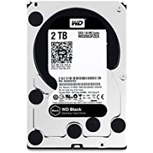 "WD WD2003FZEX Hard Disk Desktop Performance, 7200 RPM, SATA 6 GB/s, 64 MB Cache, 3.5 "", 2 TB, Nero"