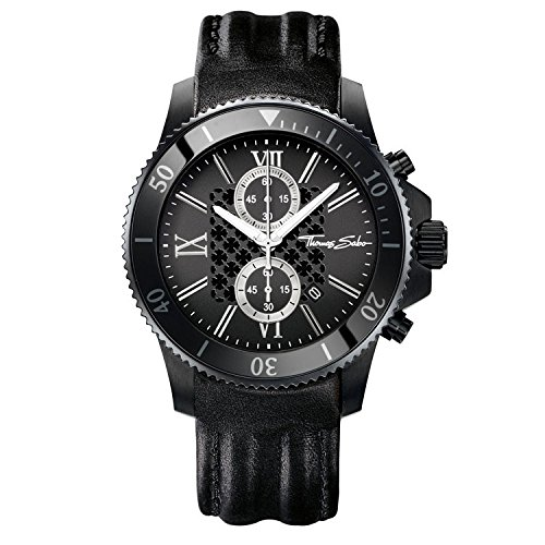 Thomas Sabo, Montre Homme WA0200-213-203-44 mm
