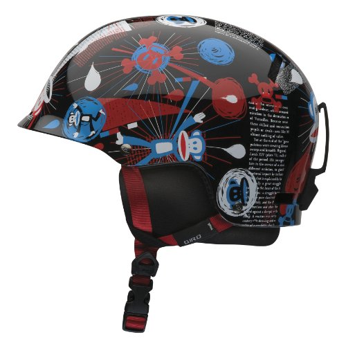 Giro Jugend Tag Snow Helm (Paul Frank Gamma Ray, klein) (Giro Ski-jugend Helm)
