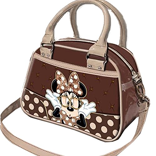 Dimension 21x15x12cm Splendide sac à main ! - Sac à main bowling Disney Minnie