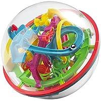 OFKPO Puzzle Bola de Laberinto 3D 12cm, Juegos Educativos Aprendizaje para Niño Adulto