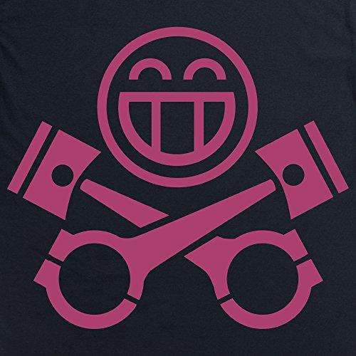 PistonHeads Smiley Berry T-Shirt, Herren Schwarz