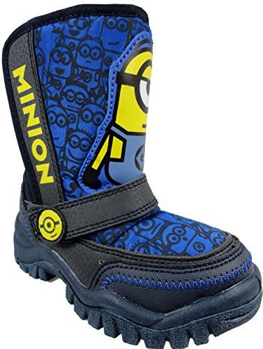 Despicable Me Minions , Jungen Stiefel Blau (Schuhe Despicable Me)