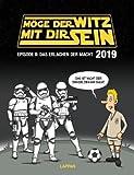 Möge der Witz mit Dir sein - Kalender 2019 - Lappan-Verlag - Michael Holtschulte - Wandkalender mit außerirdischen Cartoons - 30 cm x 39 cm
