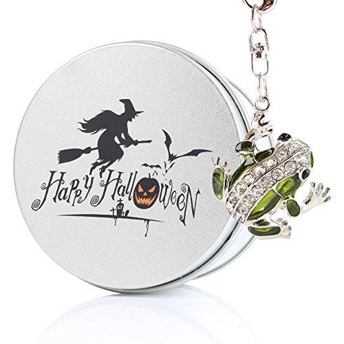 kenor grün Kristall Cute Frosch USB Memory Stick Flash Drive Geschenk/Geschenk zu Kind Sohn Boy Girl grün Halloween 8 (Halloween Niedlichen Kinder Geschenke)