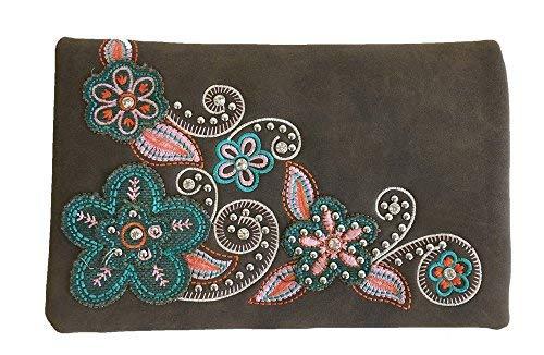 American Bling by Montana West 4-Wege-Handtasche, Braun (Coffee-20), Small - West-clutch-handtasche