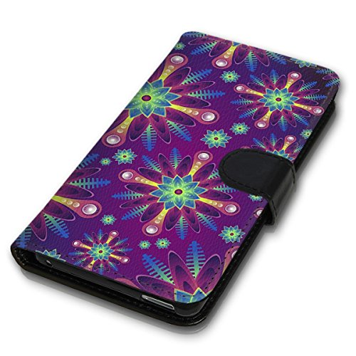 Wallet Book Style Flip Handy Tasche Case Schutz Hülle Schale Motiv Etui für Apple iPhone 4 / 4S - Variante UMV12 Design12 Design 8