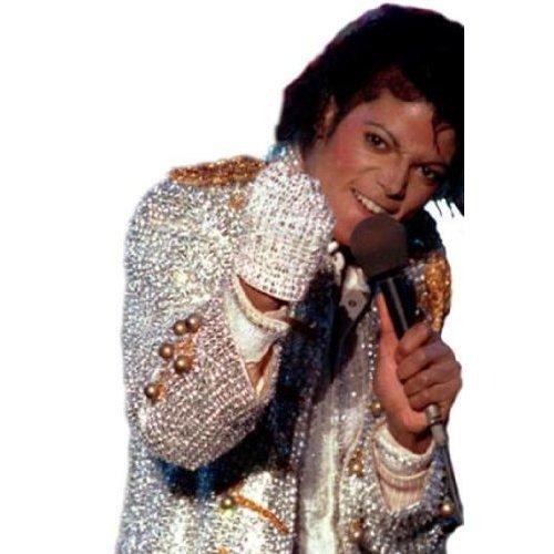 eval - Michael Jackson Glitzer Handschuh ()