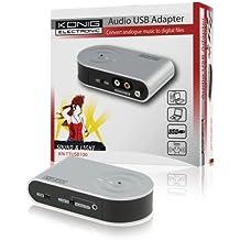 Adaptador USB Konig Audio / Phono