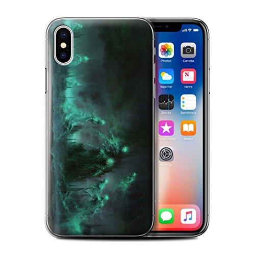 Offiziell Chris Cold Hülle / Case für Apple iPhone X/10 / Hades/Phantom Muster / Unterwelt Kollektion Hades/Phantom