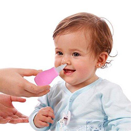dekawei 1Nasensauger Snot Sucker Klar Nasal Schleim Entferner Baby Saugnapf Nase von Baby Care NEU (Nasen-schleim Klar)