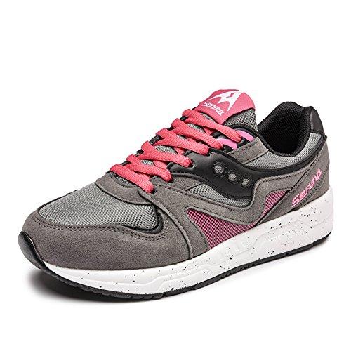 Summer coréen loisirs chaussures femme/ tendance de laçage des chaussures de sport/Chaussures plates/Chaussures de maille A