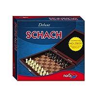 Noris-Spiele-606108005-Deluxe-Reisespiel-Schach Noris 606108005 606108005-Deluxe Reisespiel Schach, Spieleklassiker - Start -