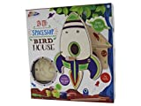 Arts & Crafts For Kids - 3D Wooden Spaceship Birdhouse For Ages 5+