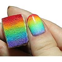 Nicedeal 12pcs untildeas degradado suave Esponjas Manicura para color Fade Arte y belleza de uñas