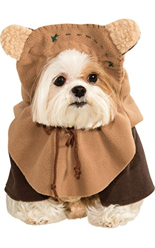 Pet Costume Ewok Large (Star Wars Hund Kostüme Ewok)