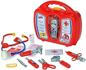 Theo Klein Maletín de médico con teléfono móvil, juguete (4350)