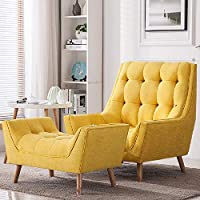Amazoncouk Yellow Oversized Chairs Chairs Home Kitchen
