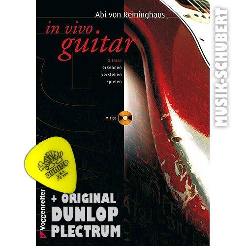 In Vivo Guitar (+CD) inkl. Plektrum - Gitarre erkennen, verstehen, spielen - eine Meisterstunde für jeden Gitarristen mit der Garantie, viel über sich und sein Instrument zu lernen (Taschenbuch) von Abi von Reininghaus (Noten/Sheetmusic)