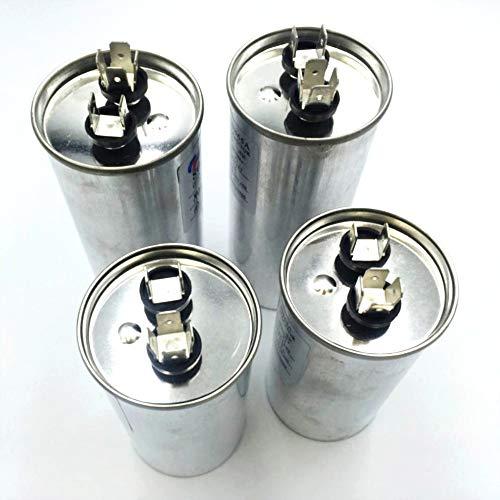 XBaofu, Condensatore di avviamento compressore del condizionatore d'Aria del condensatore del Motore a Corrente alternata CBB65 450VAC 20uF 25uF 30uF 35uF 40uF 45uF 50uF 60uF 70uF (Speed : 45UF)
