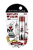 #7: Maybelline Alia Loves New York Baby Lips Lip Balm, Highline Wine, 4g