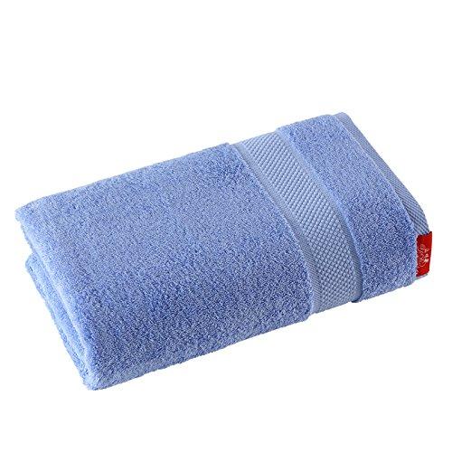 mangeoo reine Baumwolle Absorption von Wasser, Erwachsene Kinder Und Männer Hotel Badetuch Wrap Soft, Blau Ozean Badetuch, 140x 80cm (Bad Handtücher Ozean)