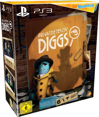Privatdetektiv Diggs Bundle (Spiel inkl. Wonderbook, Move - Motion - Controller & Camera) - [PlayStation 3] (3 Bundle Playstation Move)
