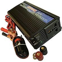 CAM2 500W Onda Sinusoidal Pura Inversor De Corriente De Coche Transformador Voltaje Portable 12V a 220V Pico Poder 1000W