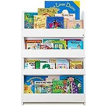 Tidy Books L'Originale Libreria per Bambini, in Legno. Libreria Frontale per Bambini. La Libreria Bambini Ideale per la Cameretta. 115 x 77x7 cm.