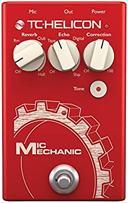 TC HELICON MIC MECHANIC 2 Vocal Effects Stompbox
