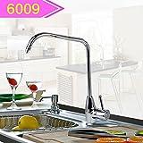 LHbox Tap Feldspritze Auswurfkrümmer Küche Wasserhahn Direkte Trinkwasser Wasserhahn Haushalt Wasseraufbereiter ist Ein Kupfer Wasserhahn Küche Gereinigtes Leitungswasser Luftreiniger Zubehör 6009