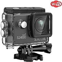 Cámara para deportes de acción, de SJcam, SJ4000, conWIFI, resistente al agua, 12MP Full HD 1080P, video cámara de 2.0con pantalla LCD, pantalla de 2.0, color SJ4000WIFI Black