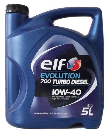Aceite para coche Elf Turbo Diésel 10W405litros