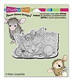 Unbekannt Stampendous Gummi House Maus Selbst Stempel 11,4x 12cm, freundlicher Dreams