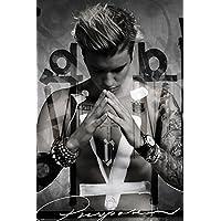 """Mehrfarbiges, 61 x 91,5 cm großes Justin Bieber """"Purpose"""" Poster von GB Eye"""