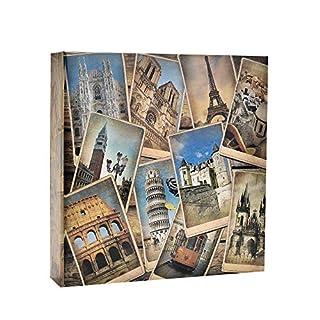 10x 15cm großes Fotoalbum in Vintage-Stil für 200 Bilder von Arpan