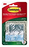 Command 17017CLR-AWES Outdoor Light Clip - Clear