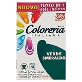 Grey Colorante per Tessuti Coloreria Italiana, Verde Smeraldo - 1 Pacco