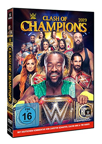 WWE - Clash of Champions 2019 (2 DVDs)