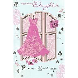 Geburtstagskarte für Tochter und warme Special Wishes Karte