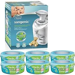 Sangenic Windeltwister MK4 Hygiene Plus+ Windeleimer inkl. 6 Nachfüllkassetten