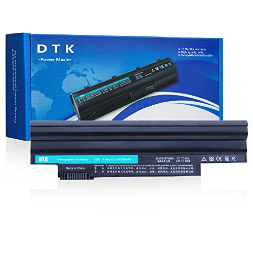 DTK® Ultra Hochleistung Notebook Laptop Batterie Li-ion Akku für For Acer Aspire One D255 D257 D260 522 722 Fits P/N: AL10A31 AL10B31 AL10BW AL10G31 BT.00603.121 LC.BTP00 - 12 Monate Garantie [ 6-cell 11.1v 4400mah ]