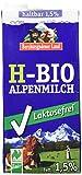 Berchtesgadener Land Bio Haltbare Bio-Alpenmilch LAKTOSEFREI, 1.5%, 12er Pack (12 x 1 l)