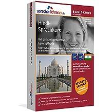 Hindi-Basiskurs mit Langzeitgedächtnis-Lernmethode von Sprachenlernen24: Lernstufen A1 + A2. Hindi lernen für Anfänger. Sprachkurs PC CD-ROM für Windows 10,8,7,Vista,XP / Linux / Mac OS X