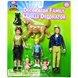 POOF-Slinky 1014 Ideal Decorator Family Figurines by Ideal TOY (English Manual)