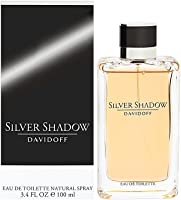 Davidoff Perfume  - Silver Shadow by Davidoff - perfume for men - Eau de Toilette, 100ml