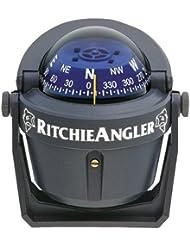 Ritchie Navigation 128-ra91Zirkel Angler Halterung, schwarz, Einheitsgröße