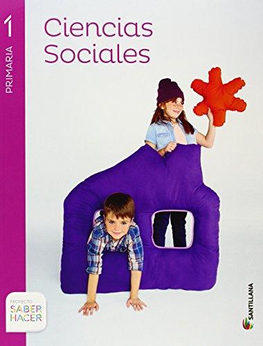 CIENCIAS SOCIALES 1 PRIMARIA SABER HACER - 9788468011813 por Vv.Aa