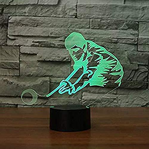 Led Nachtlicht Usb Bill Game Light 7 Farbwechsel Touch Schalter Schreibtisch Deko Licht Perfekt Abs Base Line