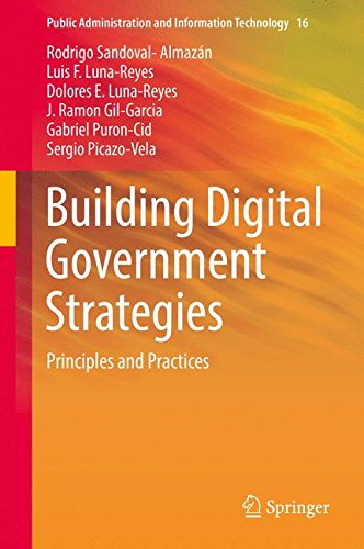 Building Digital Government Strategies: Principles and Practices (Public Administration and Information Technology)